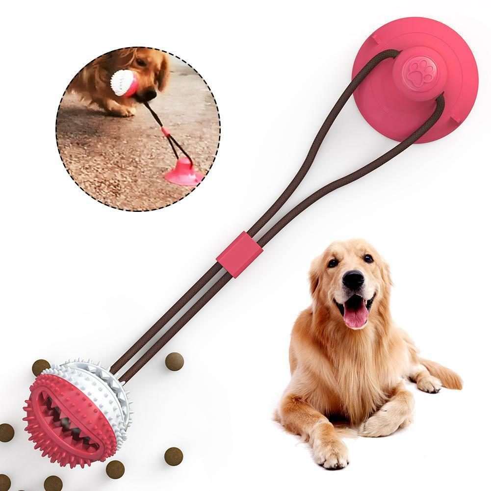 Pet Molar Dog Rope Toys Suction Cup
