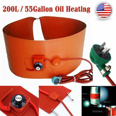 200l55gallon 1000w Silicone Band Drum Heater Oil Biodiesel Metal Barrel 200l