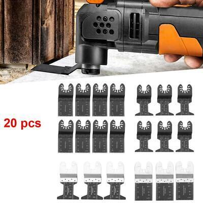 20 Pcsset Oscillating Multi Tool Saw Blade For Bosch Fein Multimaster Makita Us