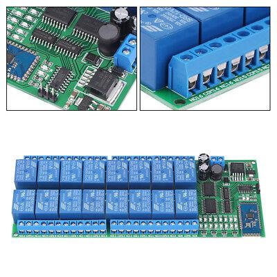 Dc 12v 16 Channel Bluetooth Relay Board Wireless Remote Control Switch Sg