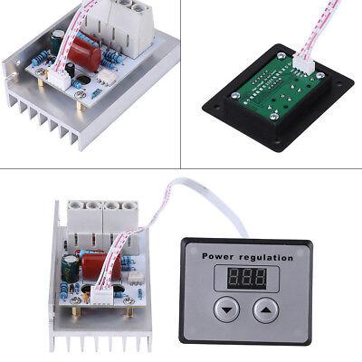 Electric Regulator Ac220v 10000w High Power Scr Speed Controller Motor Control
