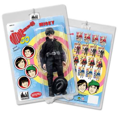 The Monkees 8 Inch Retro Action Figure Variants: Bandit Micky Dolenz
