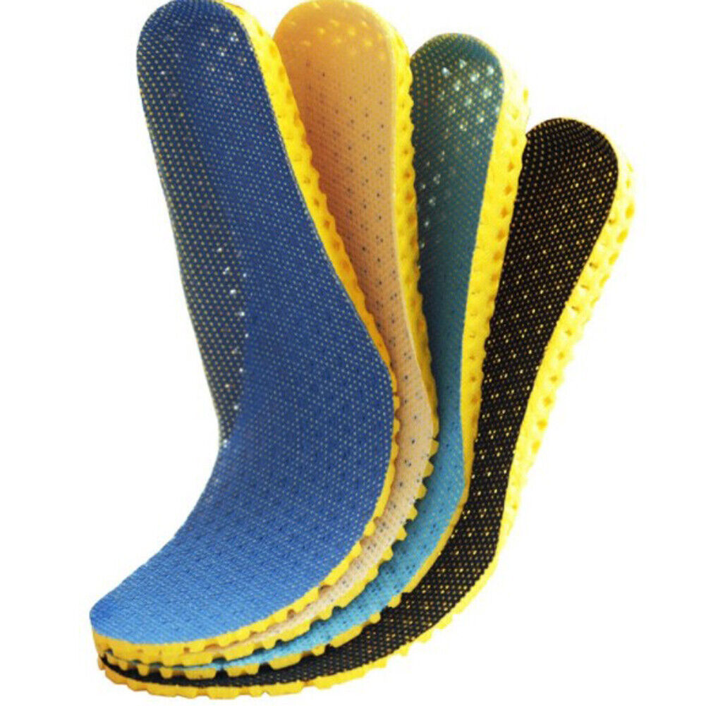 1 Pair Soft Insoles Orthopedic Memory Foam Sport Arch Support Insert Soles Pad