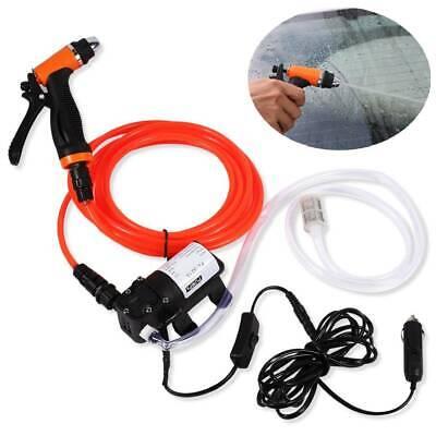 Portable 12 V Car High Pressure Washer Water Pump Set Jet Wash Cleaner Hose Van