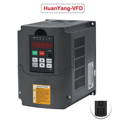 2.2kw 220v Variable Frequency Drive Inverter Vfd 3hp 10a Genuine Huanyang