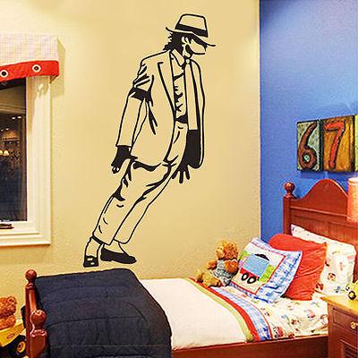 DIY Michael Jackson Dancing Vinyl Wall Decals Removable Sticker Home Room Decor