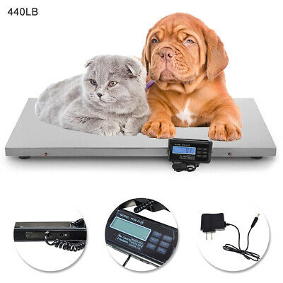 440lblarge Digital Weighing Scale Veterinary Animal Weight For Pet Goatdogcat
