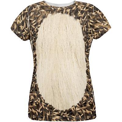 Halloween Hedgehog Costume All Over Womens T Shirt - Halloween Hedgehog