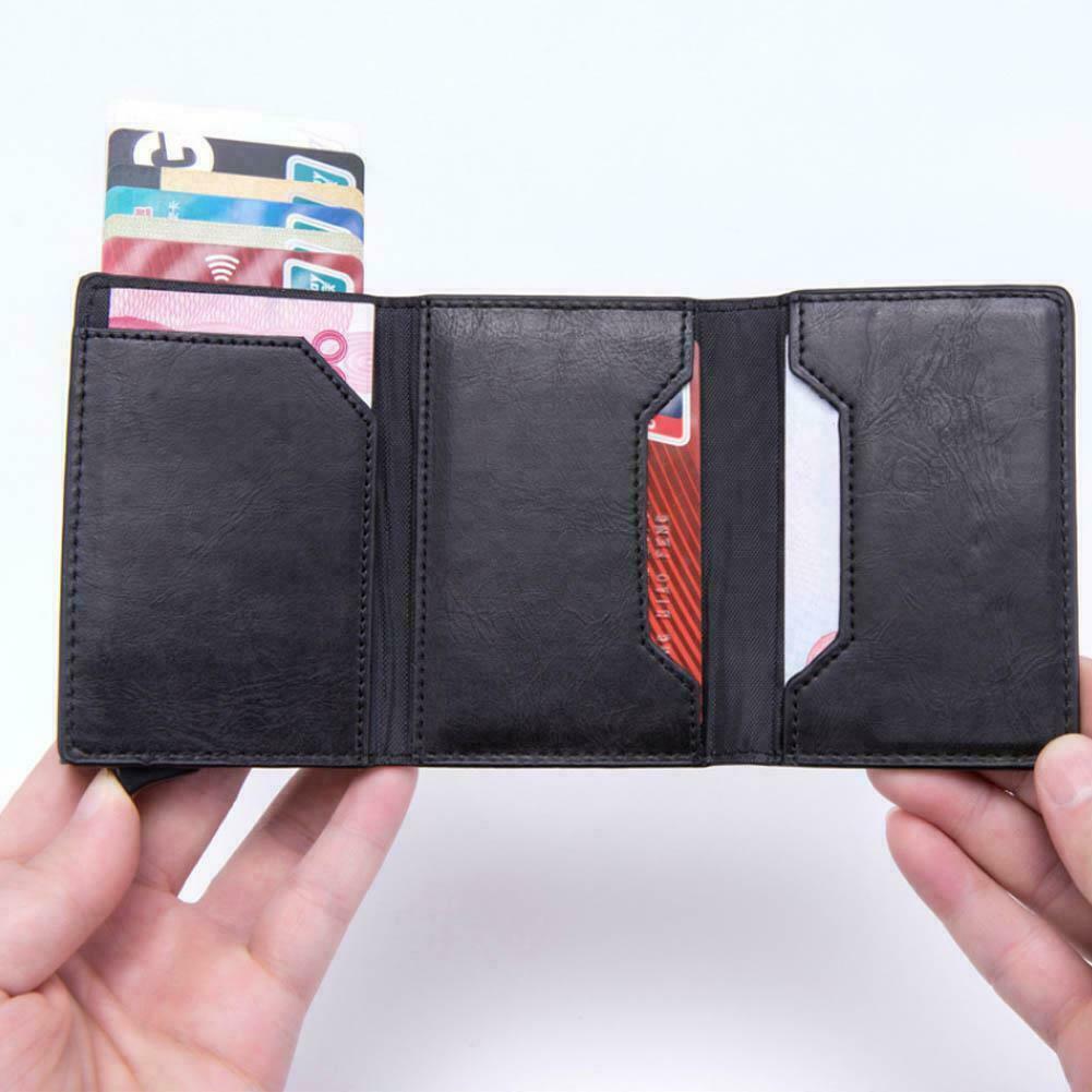 Visitenkartenbox Etui Visitenkartenhalter Business ID Card Koffer Holder Neu