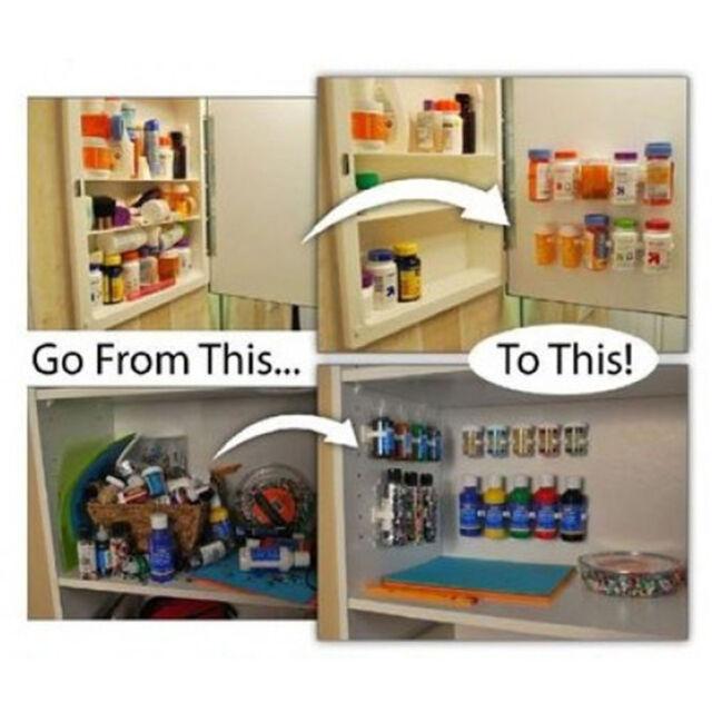 Door Spice Rack Organizer Shelf Jar Kitchen Cabinet Cupboard Wall Mount  Storage