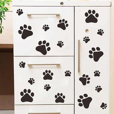 Home Decor Starfish Removable PAW PRINT STICKERS 22 Any Colour Car Wall Art Decal Graphics Cat Dogs Wallpaper Home Decor Mumbai