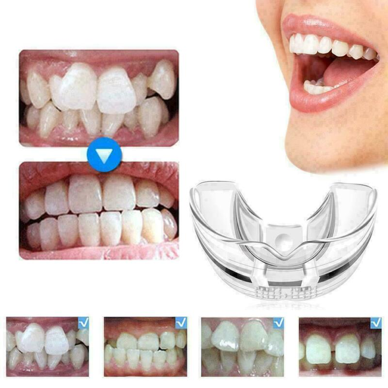 2x thermoform moldable mouth teeth dental trays