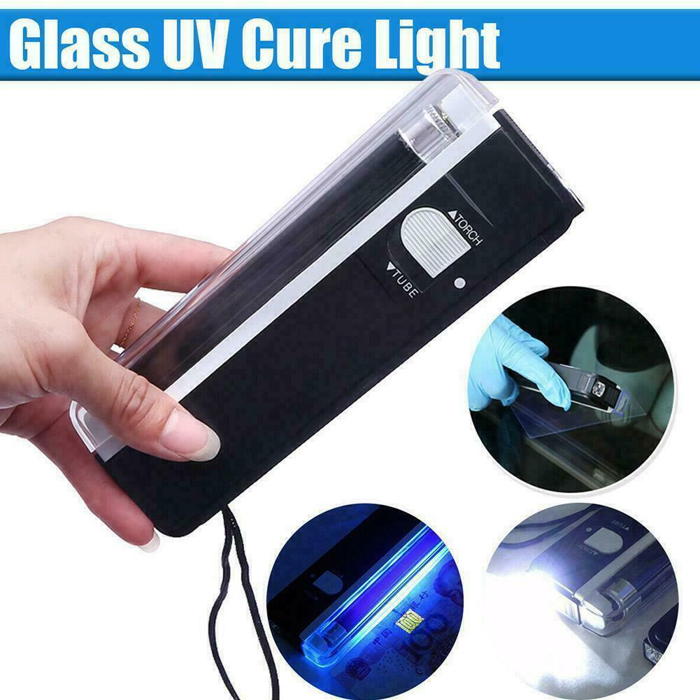 UV Cure Lamp Ultraviolet LED Light Car Auto Glass Windshield Kit new Repair M1C2