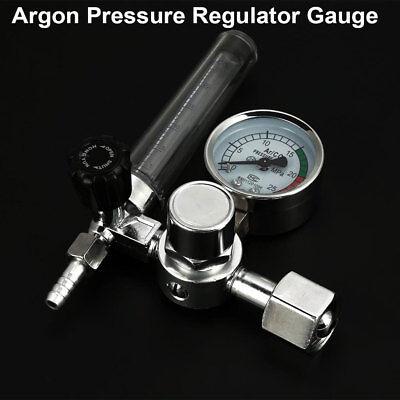 0-25mpa Argon Co2 Pressure Reducer Flow Control Valve Gauge Welding Regulator