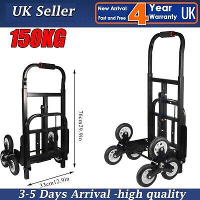 Portable 6 Wheels Stair Climber Cart Climbing Transport Truck Hand Sack Trolley