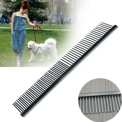 Best Dog Cat Pet Stainless Steel Comb Grooming Hair Brush supplies 16*2.8CM