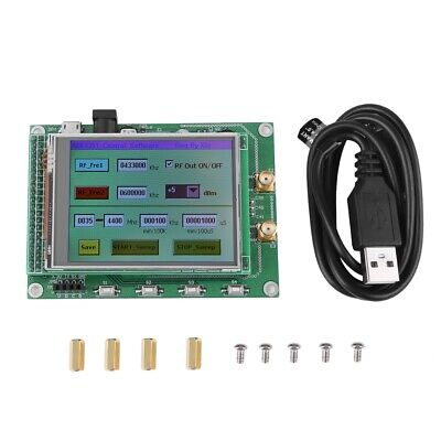 Adf4351 Rf Sweep Signal Source Generator Module 35m-4.4gstm32 Tft Lcd Ams