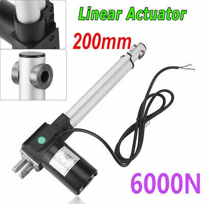 8 Stroke Linear Actuator 12v Electric Motor 6000n Water-proof Heavy Duty 200mm