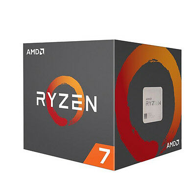 AMD RYZEN 7 1700 8-Core 3.0 GHz (3.7 GHz Turbo) 65W AM4 Processor YD1700BBAEBOX