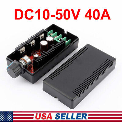 Dc Motor Speed Control Reversible Pwm Controller Regulator Switch Dc10-50v 40a