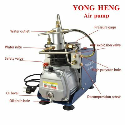 Yong Heng 30mpa 110vair Compressor Pump Pcp Electric4500psi High Pressure Rifle