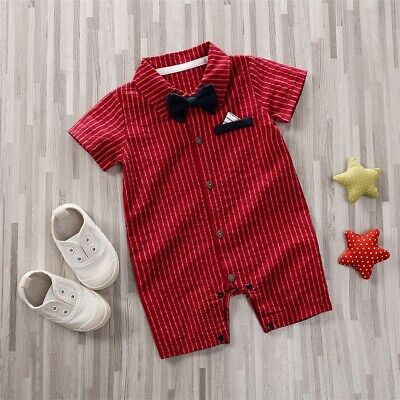 US NEW Formal Toddler Newborn Baby Boy Wedding Party Outfits Clothes Set (Baby Boy Wedding Clothes)