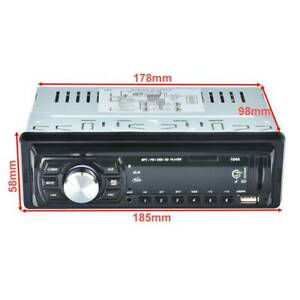 Car In-Dash Stereo Bluetooth Audio FM Input Receiver USB MP3 Sydney City Inner Sydney Preview