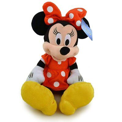 "NWT 15"" Disney Minnie Mouse Plush Doll - Stuffed Toy Authentic Licensed- RED"