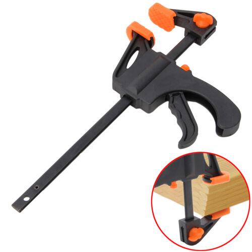 4/6/8/10/12 Inch Wood Working Bar F Clamp Grip Ratchet Relea