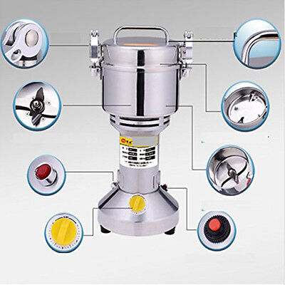 Charged Herb Coffee Beans Grain Grinder Cereal Mill Powder Machine Flour 700g