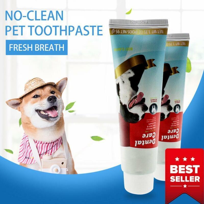 All-natürliche Zahnpasta für Hunde Beste Lösung für Mundgeruch und Zahnstei W2Z0