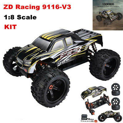 ZD Racing 9116-V3 1/8 Electric RC Truck 4WD Frame DIY Kit Remote Control Car