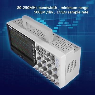 "HANTEK DSO4254C 7"" TFT LCD Digital Storage Oscilloscope 4-CH 250MHz 1GSa/s"