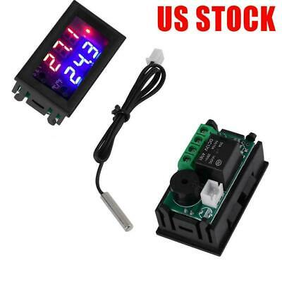 12v Digital Microcomputer Thermostat Controller Switch Temperature With Sensor
