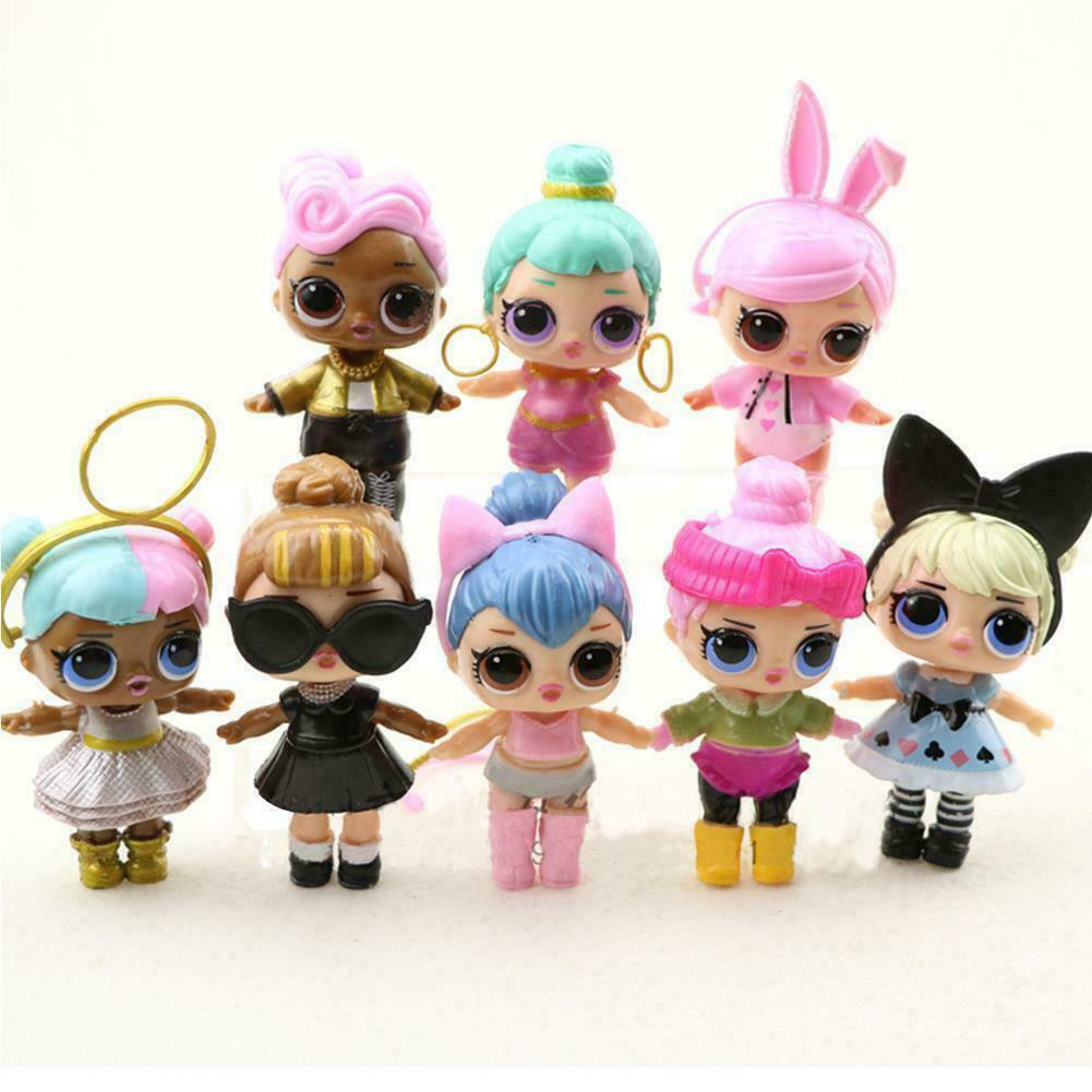 Купить Unbranded - 8 Pcs Lol Surprise Doll Lil Sisters LIL Cute Baby Tear Girl Educational Toy Gift