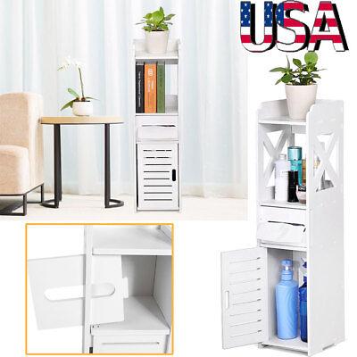 3-Tier Bathroom Kitchen Cabinet Storage Rack Free Standing Shelf Organizer (Freestanding Kitchen Cabinet)