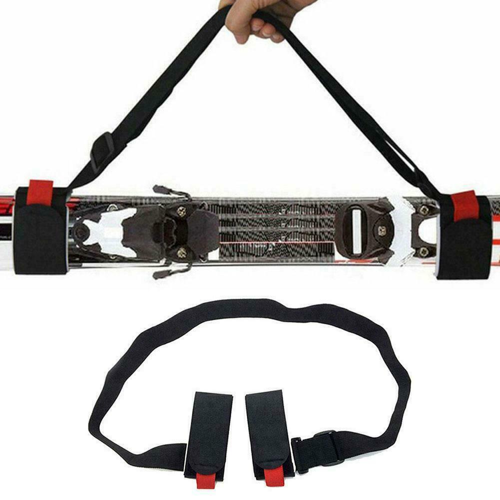 Einstellbar Nylon Schultergurt Tragegurt Ski Snowboardfahren  Strap Tape Band