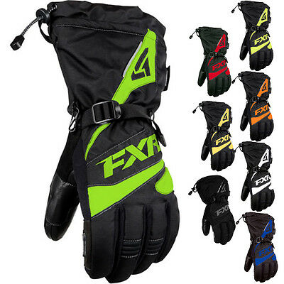 FXR Racing Fuel Black Mens Snowboard Skiing Snowmobile (Fxr Snowmobile Gloves)