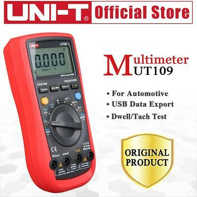 Uni-t Ut109 Handheld Automotive Multipurpose Meters Auto Range Multimeters