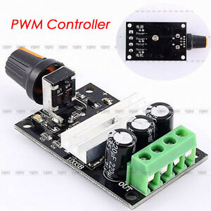 Dc 6v 28v 3a variable motor speed pwm adjustable regulator for Variable speed control electric motor