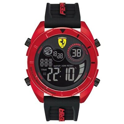 Scuderia Ferrari Mens Forza Watch RRP £75 Brand New and Boxed