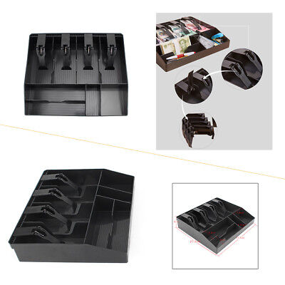 Cash Register Money Tray Locking Cashier Storage Box Money Drawer Organize