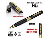 USB Spy Pen HD Video Recorder Hidden Camera Camcorder DVR Support 32G TF BT