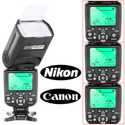 Neewer TR-988 TTL Camera Slave Flash Speedlite with *HSS* for Canon & Nikon