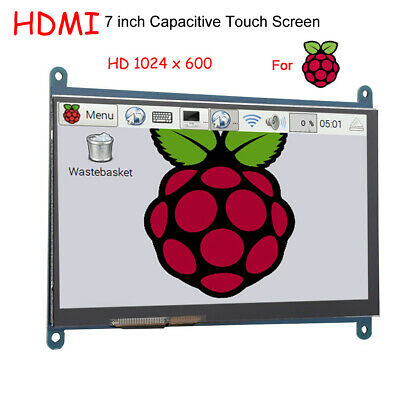 7inch Lcd Touch Screen Display Usb Hdmi 1024x600 Ultra Hd For Raspberry Pi Dd