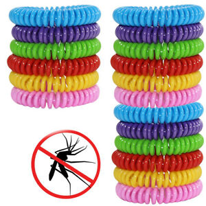 18 Pack Mosquito Repellent Bracelet Band Pest Control Insect Bug Repeller