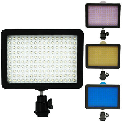 Highlight 160 LED Studio Video Light for Canon Nikon DSLR Ca