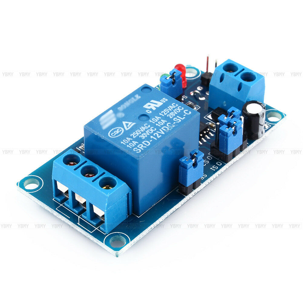 12v Dc Relay Switch Module Trigger Turn On   Delay Turn Off