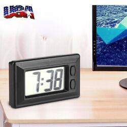 Wholesale Digital LCD Screen Table Auto Car Dashboard Desk Date Time Small Clock