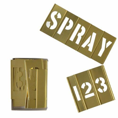 Brass Stencil Set Marking 2 Inch